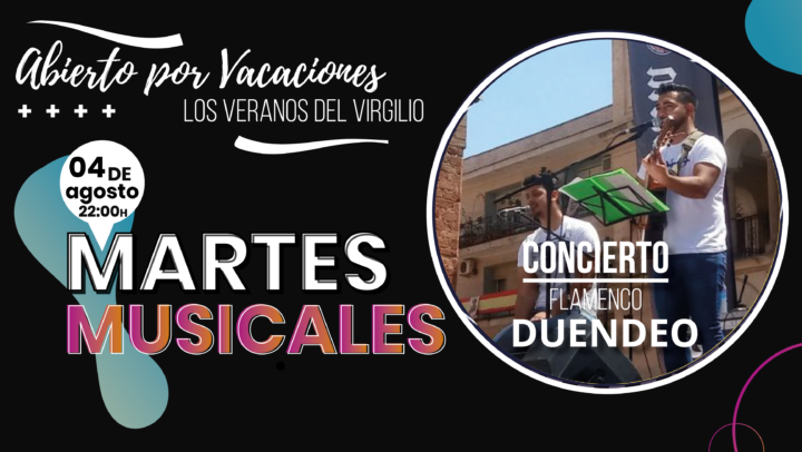 MARTES MUSICALES DUENDEO 04 AGOSTO